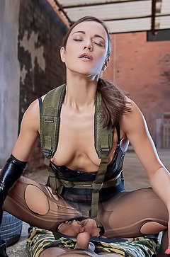 Alyssa Reece In Metal Gear Solid